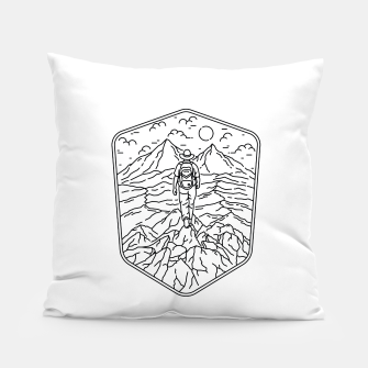Thumbnail image of Traveler Pillow, Live Heroes