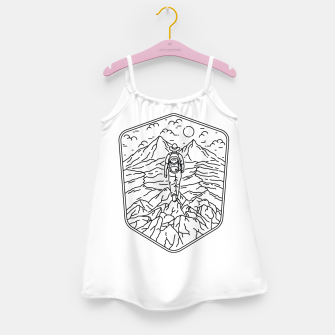 Miniatur Traveler Girl's dress, Live Heroes