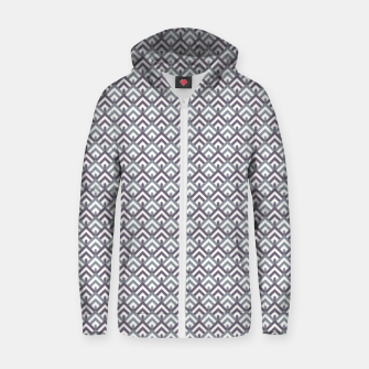 Thumbnail image of Blue Mountain Geometric Pattern Zip up hoodie, Live Heroes