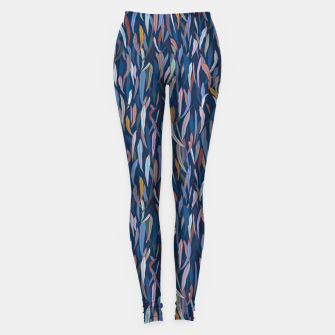 Thumbnail image of Classic Blue Eucalyptus Forest Leggings, Live Heroes