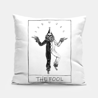 Thumbnail image of The Fool Tarot Poduszka, Live Heroes