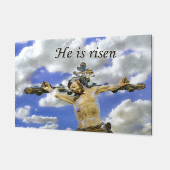 Miniatur Easter Concept Pop Art Print Canvas, Live Heroes