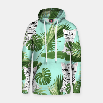 Imagen en miniatura de Baby Cat in the Jungle #2 (Kids Collection) #tropical #animal #decor #art Kapuzenpullover, Live Heroes