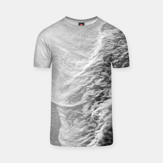 Imagen en miniatura de Black & White Ocean Dream Waves #1 #water #decor #art T-Shirt, Live Heroes