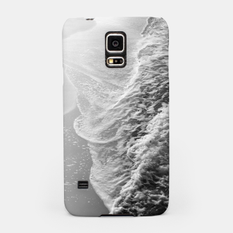 Imagen en miniatura de Black & White Ocean Dream Waves #1 #water #decor #art Handyhülle für Samsung, Live Heroes