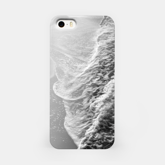 Imagen en miniatura de Black & White Ocean Dream Waves #1 #water #decor #art iPhone-Hülle, Live Heroes