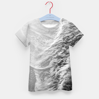 Imagen en miniatura de Black & White Ocean Dream Waves #1 #water #decor #art T-Shirt für kinder, Live Heroes