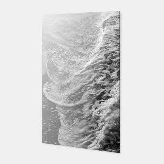 Imagen en miniatura de Black & White Ocean Dream Waves #1 #water #decor #art Canvas, Live Heroes