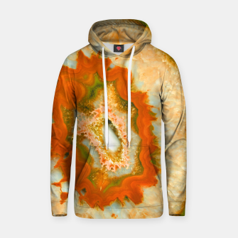Thumbnail image of Orange Green Agate #1 #gem #decor #art  Kapuzenpullover, Live Heroes