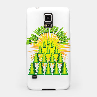 Imagen en miniatura de The woods are lovely Samsung Case, Live Heroes