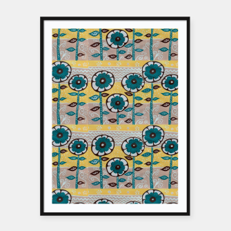 Thumbnail image of Flowers no 1 Framed poster, Live Heroes