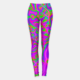 Thumbnail image of Purple Portal Leggings, Live Heroes