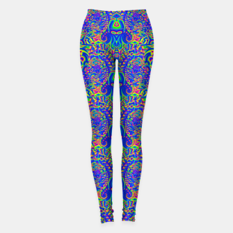 Thumbnail image of dark portal pattern Leggings, Live Heroes