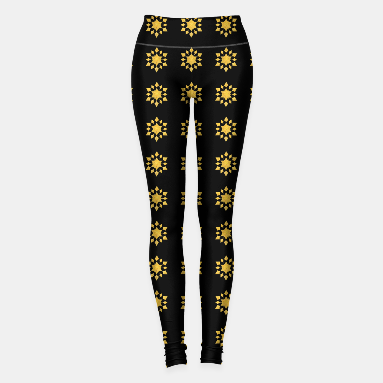Image of Communication Wealth Amulet Pattern Leggings - Live Heroes