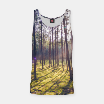 Thumbnail image of forest sun Tank Top, Live Heroes