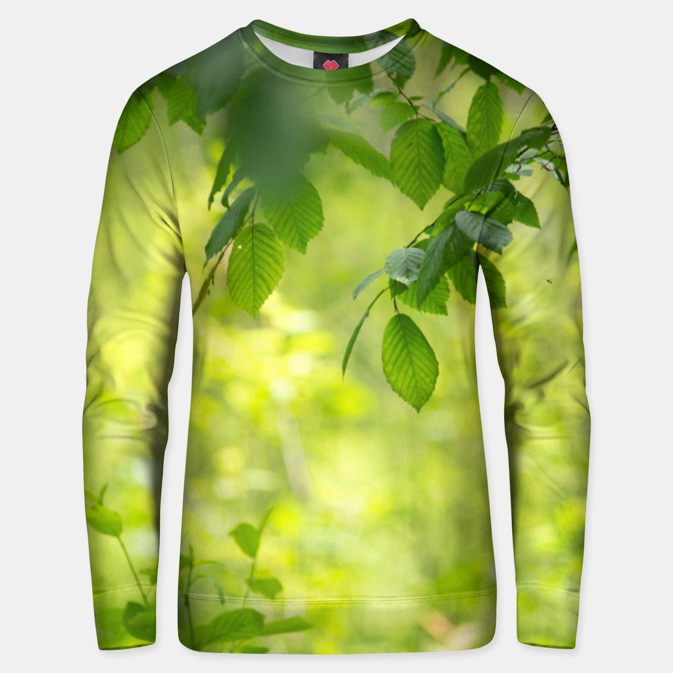 Image of Spring leafs Bluza unisex - Live Heroes