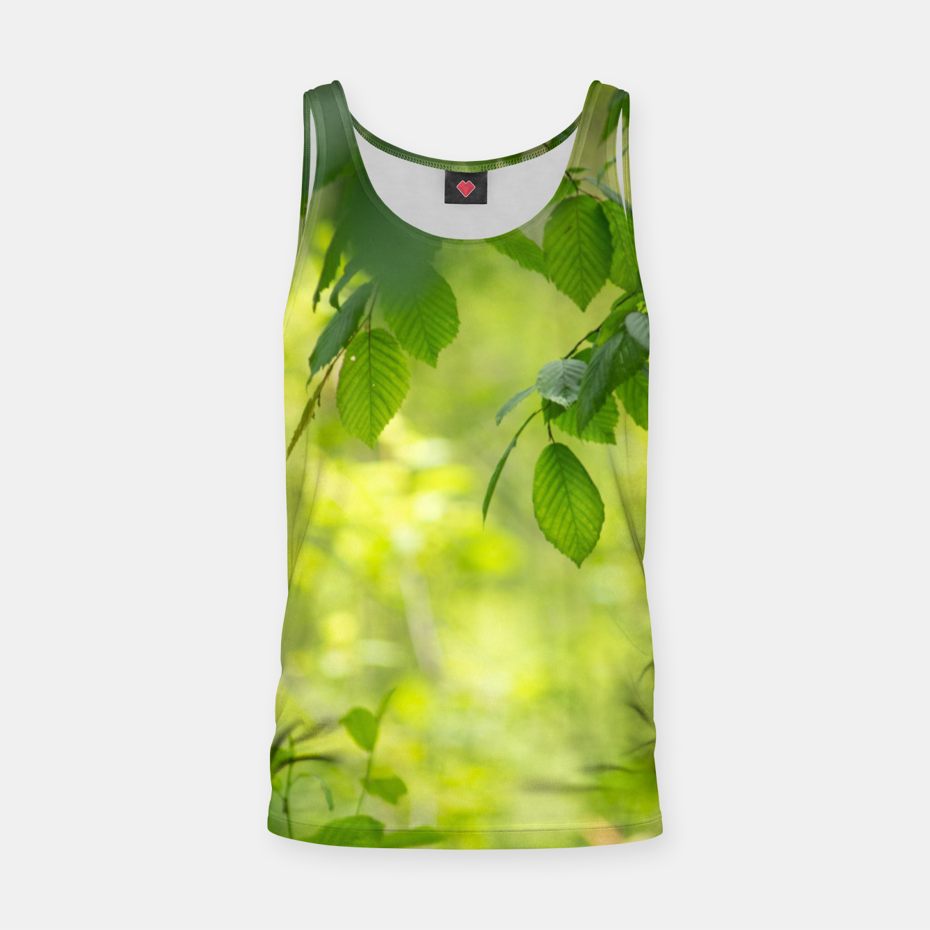 Image of Spring leafs Tank Top - Live Heroes