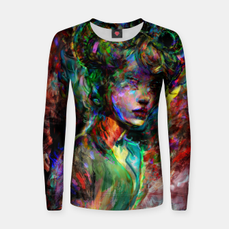 Thumbnail image of capricorn zodiac sign Women sweater, Live Heroes