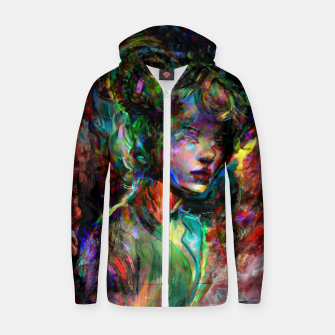 Thumbnail image of capricorn zodiac sign Zip up hoodie, Live Heroes