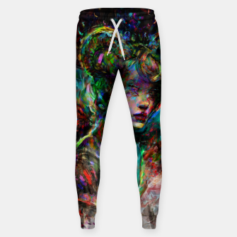 Thumbnail image of capricorn zodiac sign Sweatpants, Live Heroes
