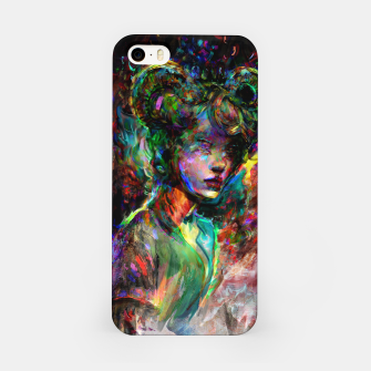 Thumbnail image of capricorn zodiac sign iPhone Case, Live Heroes