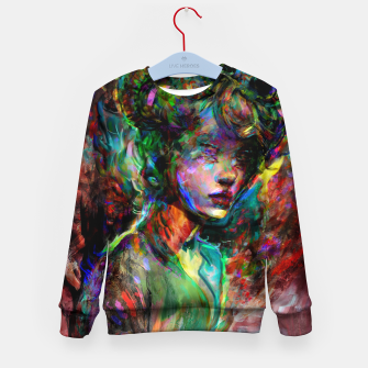 Thumbnail image of capricorn zodiac sign Kid's sweater, Live Heroes