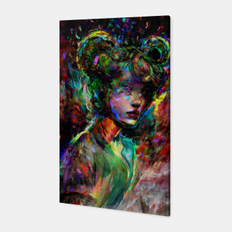 Thumbnail image of capricorn zodiac sign Canvas, Live Heroes