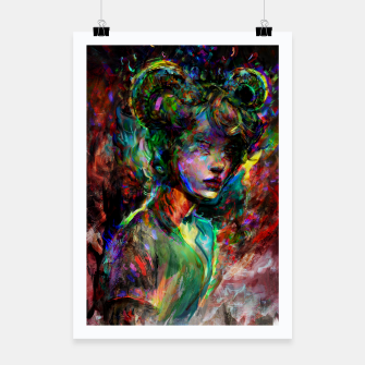 Thumbnail image of capricorn zodiac sign Poster, Live Heroes