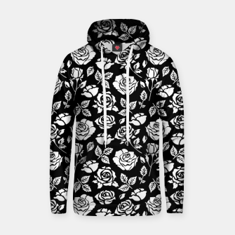 Thumbnail image of White Rose Hoodie, Live Heroes