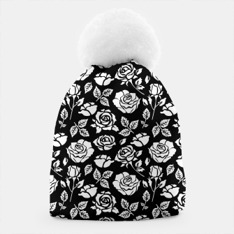 Thumbnail image of White Rose Beanie, Live Heroes