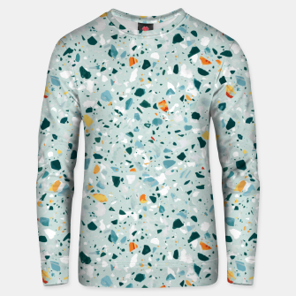 Thumbnail image of Mint Terrazzo Unisex sweater, Live Heroes