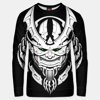 Thumbnail image of Cyber Samurai mask Unisex sweater, Live Heroes
