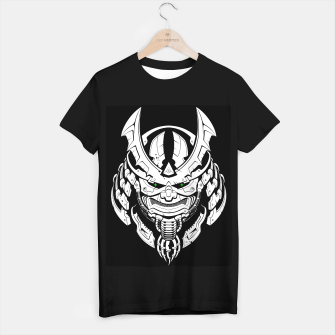 Thumbnail image of Cyber Samurai mask T-shirt regular, Live Heroes