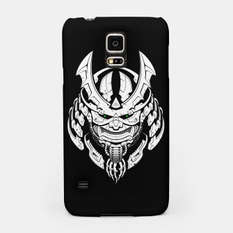 Thumbnail image of Cyber Samurai mask Samsung Case, Live Heroes