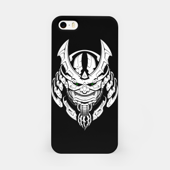 Thumbnail image of Cyber Samurai mask iPhone Case, Live Heroes
