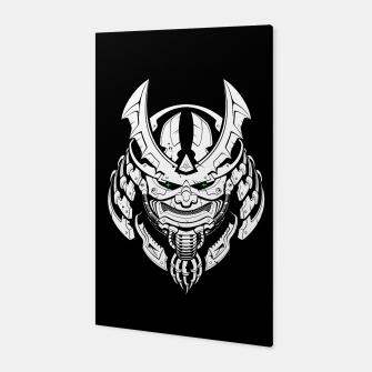 Thumbnail image of Cyber Samurai mask Canvas, Live Heroes