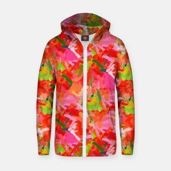 Thumbnail image of Preconceived Blossom Zip up hoodie, Live Heroes
