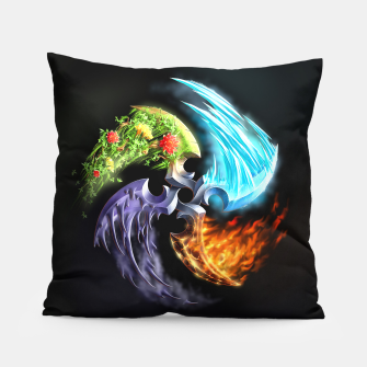 Thumbnail image of Elemental blades Pillow, Live Heroes