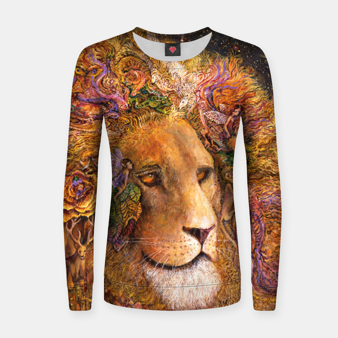 Image of Magical Mane Women sweater - Live Heroes