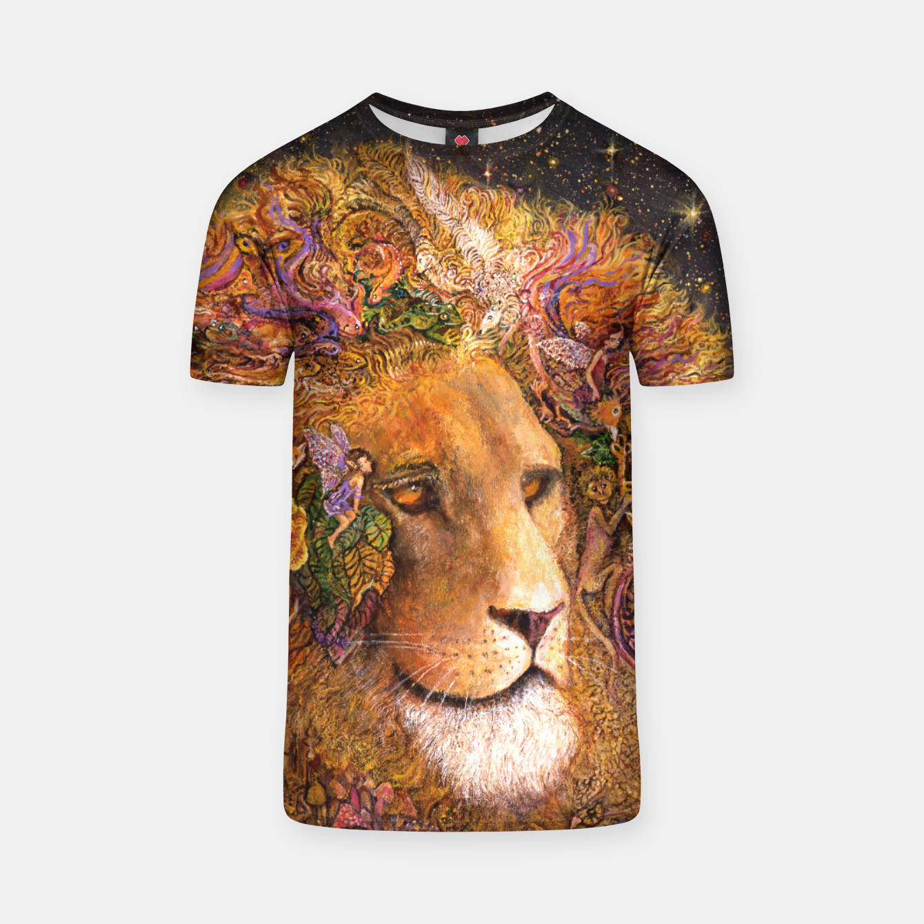 Image of Magical Mane T-shirt - Live Heroes