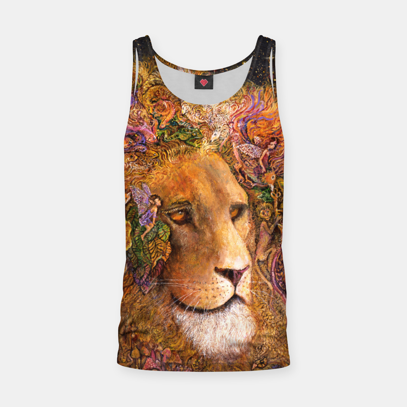 Image of Magical Mane Tank Top - Live Heroes