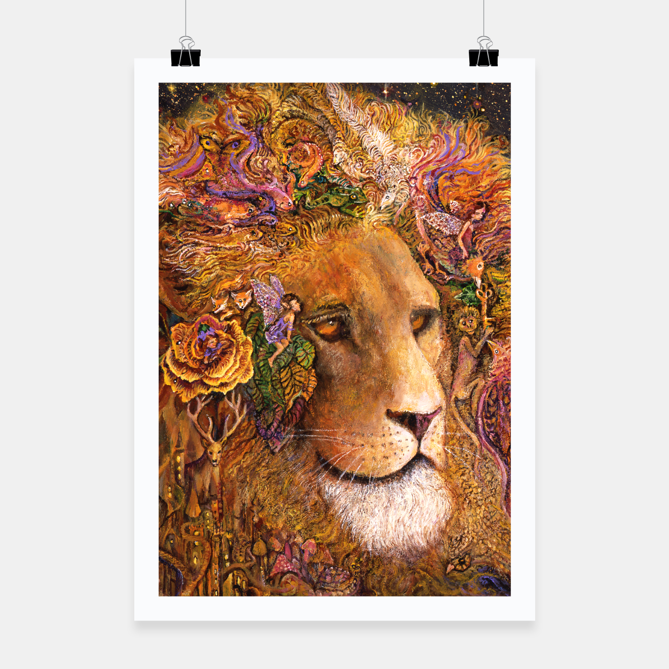 Image of Magical Mane Poster - Live Heroes