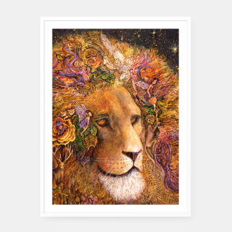 Thumbnail image of Magical Mane Framed poster, Live Heroes