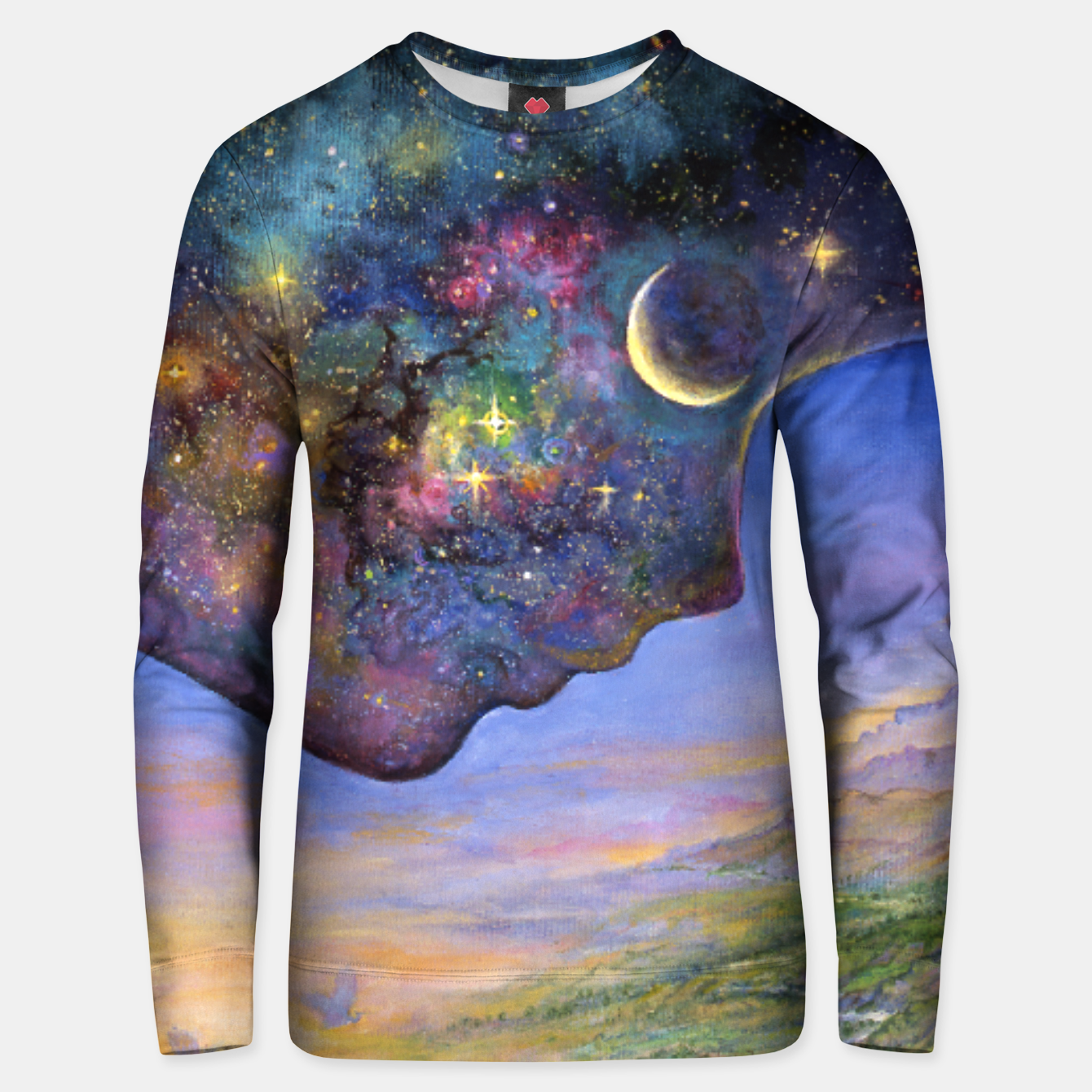 Image of Yin and Yang Unisex sweater - Live Heroes