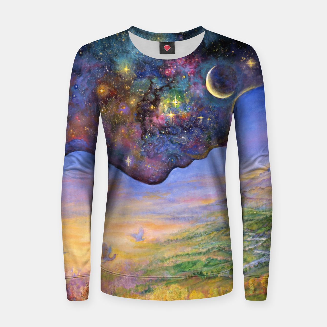 Image of Yin and Yang Women sweater - Live Heroes