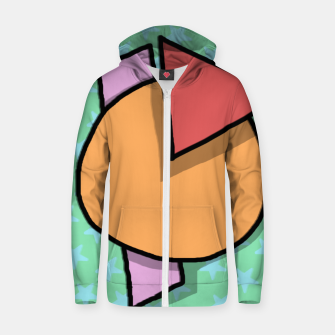 Miniatur shapes Zip up hoodie, Live Heroes