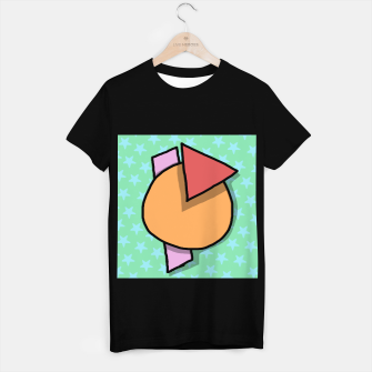 Miniatur shapes T-shirt regular, Live Heroes