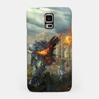 Thumbnail image of Combat robots fight Samsung Case, Live Heroes