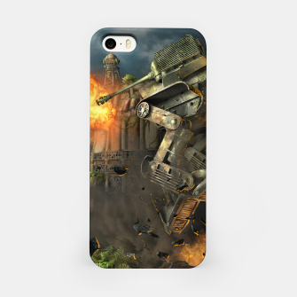 Miniatur Combat robots fight iPhone Case, Live Heroes