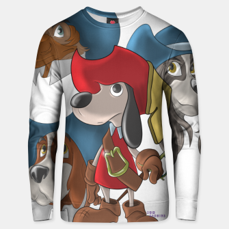 Miniaturka Muskehounds Unisex sweater, Live Heroes